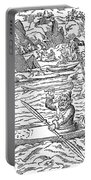 Eskimos Hunting, 1580 Portable Battery Charger