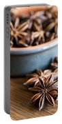Essence Of Aniseed Portable Battery Charger by Anne Gilbert