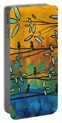 Essence Of Life By Madart Portable Battery Charger