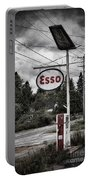 Esso Sign And Pump Portable Battery Charger