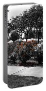 Esther Short Park Rose Garden Portable Battery Charger