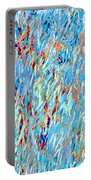Eucalyptus In Blue Portable Battery Charger