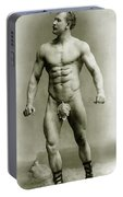 Eugen Sandow In Classical Ancient Greco Roman Pose Portable Battery Charger