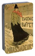 Eugenie Buffet Poster Portable Battery Charger