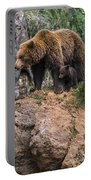 Eurasian Brown Bear 15 Portable Battery Charger