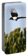 Eurasian Magpie Portable Battery Charger