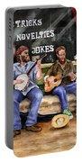 Eureka Springs Novelty Shop String Quartet Portable Battery Charger