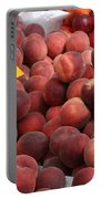 European Markets - Peaches And Nectarines Portable Battery Charger