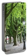 European Park Trees Portable Battery Charger