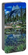 Evening At Cathedral Lakes Portable Battery Charger