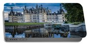 Evening At Chateau Chambord Portable Battery Charger