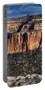Evening At Colorado National Monument Portable Battery Charger
