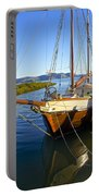 Evening Calm In Coromandel Portable Battery Charger