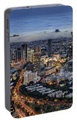 Evening City Lights Portable Battery Charger