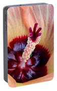Evening Hau Blossom Portable Battery Charger