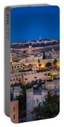Evening In Jerusalem Portable Battery Charger