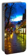 Evening Light On Lord Street Portable Battery Charger