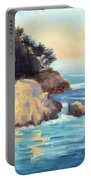 Evening Light Point Lobos Portable Battery Charger
