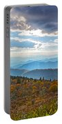 Evening On The Blue Ridge Parkway Portable Battery Charger