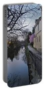 Evening On The Canal Path Portable Battery Charger