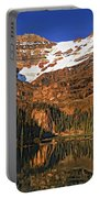 Evening On The Great Divide Painted Portable Battery Charger