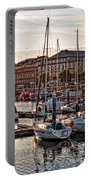 Evening On The Harbor  Portable Battery Charger
