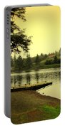 Evening On The Lake Portable Battery Charger