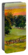 Evening Pastures Portable Battery Charger