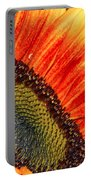 Evening Sun Sunflower Portable Battery Charger