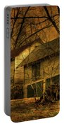 Evening Twilight Fades Away Portable Battery Charger by Lois Bryan
