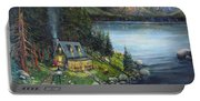 Evening Visitors Portable Battery Charger