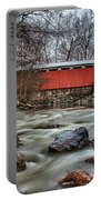 Everett Road Covered Bridge Portable Battery Charger