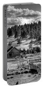 Evergreen Lake House Fall Portable Battery Charger