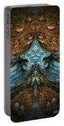Evil Autumn Tree Roots Portable Battery Charger