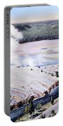 Excelsior Geyser, Yellowstone Np, 20th Portable Battery Charger