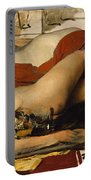 Exhausted Maenides Portable Battery Charger by Sir Lawrence Alma Tadema