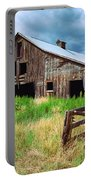 Exit 166 Barn Portable Battery Charger
