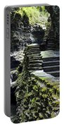 Exiting Watkins Glen Gorge Portable Battery Charger by Frozen in Time Fine Art Photography