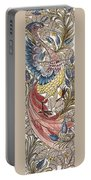 Exotic Bird Portable Battery Charger by William Morris
