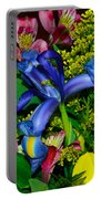 Exotic Blue Portable Battery Charger