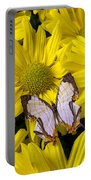 Exotic Butterfly Portable Battery Charger