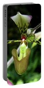 Exotic Ladyslipper Portable Battery Charger