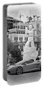 Exotic New Orleans Monochrome Portable Battery Charger