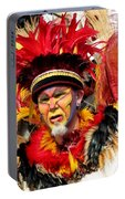 Exotic Painted Face Portable Battery Charger