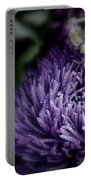 Exotic Purple Flower Portable Battery Charger