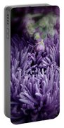 Exotic Purple Flower Two Portable Battery Charger