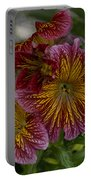 Exotic Spring Flowers Portable Battery Charger