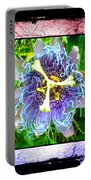 Exotic Strange Flower Portable Battery Charger