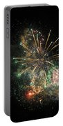Explosion Of Color On Canada Day Portable Battery Charger