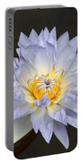 Exquisite Lavender Waterlily Portable Battery Charger